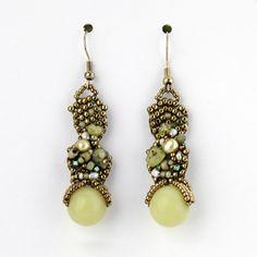 freeform earrings by Jennifer Williams