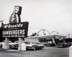 "The first ""McDonald's"" restaurand in San Bernardino ca. 1948"