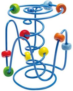 Hape Spring-a-Ling by Hape. $12.99. From the Manufacturer                Spring-a-Ling by Hape. There's always a new way to scoot around this endless maze. Zig, zag, zoom. This wire maze is perfect for the baby stroller, car seat, or your own desk. Durable child safe paint finish and solid wood construction are hallmarks of Hape toys. Hape's toys stimulate children through every stage of development and help nurture and develop their natural abilities. All Hape pr...