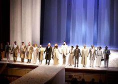"""Standing ovation (meritata) per il Teatro Nazionale di Cluj-Napoca e il loro """"Giardino dei Ciliegi"""" al  @teatrodellapergola"""