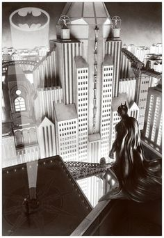 Batman by Chris Skinner *