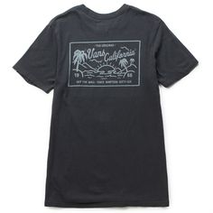 The Vans California Men's Tee in the Black Overdye Colorway is a 100% combed cotton t-shirt with a vintage overdye, left chest embroidery, and printed back graphics. Fit type: custom. Machine wash col