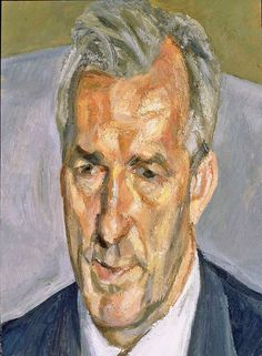 Jeremy King (2006-7) by Lucian Freud, via Artsy