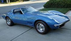 Chevrolet: Corvette 2-Door Coupe Bloomington Gold 1968 427/390hp L36 Corvette Check more at http://auctioncars.online/product/chevrolet-corvette-2-door-coupe-bloomington-gold-1968-427390hp-l36-corvette/