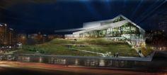 Tangram Theatre Second Prize Winning Proposal / Gras Arquitectos