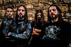 Rotting Christ Rotting Christ, Black Death, Thrash Metal, Metal Bands, Priest, Metal Art, Rock N Roll, Heavy Metal, Musik