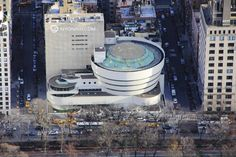 The Guggenheim Museum by Pat Day & FlyNYON - New York City Feelings