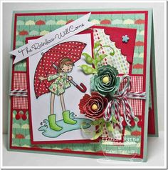 This is just such a pretty card designed by Frances Byrne and using MFT Stamps and Dies.  Love it.