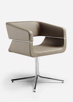 La Cividina | Matrix Collection | MATRIX | Swivel Low Lounge Chair Design by Mauro Fadel