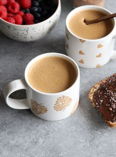 Vegan Cacao Mushroom Latte