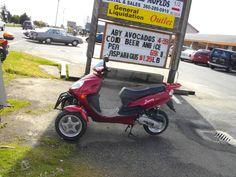 lil red three wheel bike,  luvvvvv