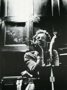 Hannah Arendt, Chicago, ca. 1965.