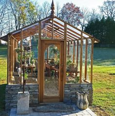 Sturdi-Built greenhouse - so pretty!