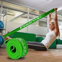 Une bande élastique de résistance pour yoga, fitne...