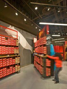 Puma store by Nathan Lee Colkitt Architects, Ontario - California