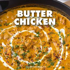 Indian Vegetarian Recipes 772648879806025988 - Rich and Creamy Butter Chicken. This Indian Curry, also known as Murch Makhani, is so smooth it's almost buttery. Spice up your Weeknight Dinners with this curry that is sure to satisfy. Spicy Recipes, Indian Food Recipes, Vegetarian Recipes, Cooking Recipes, Healthy Recipes, Non Spicy Curry Recipe, Chili Recipes, Vegan Vegetarian, Paleo Curry