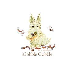 Scottish Terrier Thanksgiving Turkey