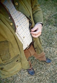 Barbour and Duck Boots. Duck Boots, Barbour, Men's Style, Military Jacket, Mens Fashion, How To Wear, Jackets, Male Style, Moda Masculina