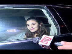 Alia Bhatt At Ganesh Aacharya Dance Academy For Dream Tour.