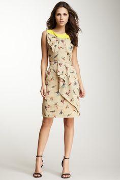 Eva Franco Aria Print Bow Dress on @HauteLook