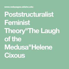 helene cixous the laugh of the medusa summary