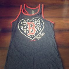 Boston tank top Worn once to a game. Kids XL fits like a Small. Tops Tank Tops