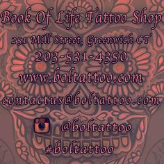 Come check us out! @boltattoo  #boltattoo #bookoflifetattoo #greenwichtattoo #cttattoo #ct #ctink #greenwichink  by inkbylove