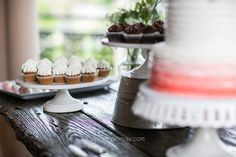 Stephie Joy Photography : Jacksonville and St. Augustine Florida Wedding and Lifestyle Photography » Jacksonville and St. Augustine Florida Wedding and Lifestyle Photography wedding cupcakes, white cake plate, vintage, classic, pink white