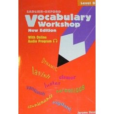 vocabulary workshop: level b