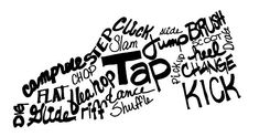 'Tap Dance Shoe Filled with Tap Terms' Poster by Tara Barnaba Dance Class, Dance Studio, Tap Dance Quotes, Dancing Quotes, Tap Songs, Tap Dance Photography, Body Painting, Dance Rooms, Dancing Drawings