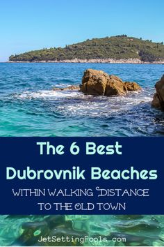 Searching for the best Dubrovnik beach? We've got you covered with the 6 best Dubrovnik beaches that you can walk to from the Old Town! Europe Travel Guide, Travel Guides, Travelling Europe, Travel List, Travel Destinations, Rovinj Croatia, Dubrovnik Old Town, European Destination, European Travel