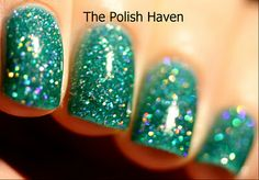China Glaze Atlantis.  I love this color but don't know how it would look on me.