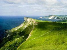 Gad Cliff nr. Kimmeridge, Dorset by Roger Holman