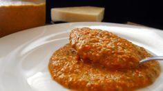 Tomato and Basil Pesto Sauce via healingtomato.com