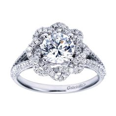 Gabriel and Co Style #ER7729W44JJ closest I can get from the dream ring I found on here and can't figure out who makes it :(