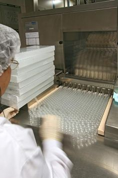 Stérilisation de flacons   LEEM - Les entreprises du médicament