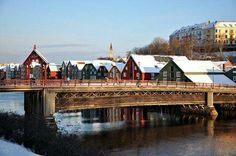 Old Town Bridge in Trondheim