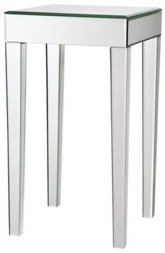 Modern Creation Mirrored Side Table