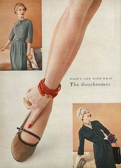 Joanna McCormick, November Vogue 1958