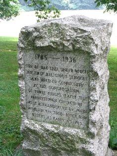 Old Presbyterian Cemetery  West Alexander  Washington County  Pennsylvania  USA