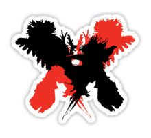 Kings of Leon - Only By The Night (Silhouette) Sticker