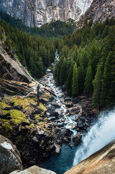 """de-preciated: """" Cold Woods (by poromaa) Yosemite Park """""""