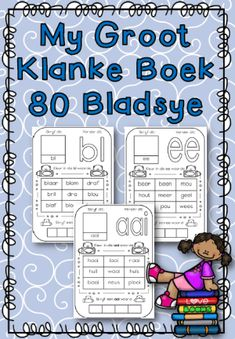 My Groot Klanke Boek - School Diva Grammar Worksheets, Alphabet Worksheets, Afrikaans Language, Kids Education, Pre School, Book Activities, Teaching, Arno, Classroom Resources