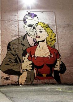 Street Improvements – Le Street Art par D*Face