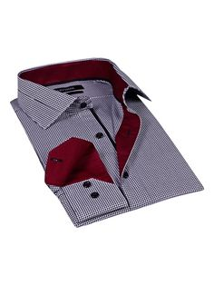 Printed Barrel Dress Shirt from The Tailored Shop: Dress Shirts on Gilt