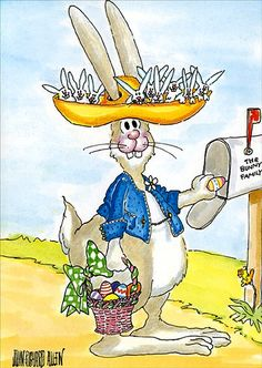 John Richard Allen –– The Bunny Family (567x800)
