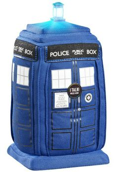 Doctor Who Tardis Plush Figure with Sound - Only £26!!