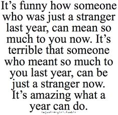 This is so true. I'm experiencing this RIGHT now.