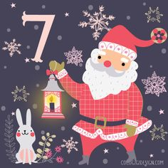 XMAS 2015 Advent Calendar Illustrations Part III