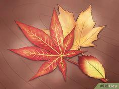 Imagen titulada Preserve Fall Leaves Step 1